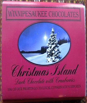 Winnipesaukee Chocolates - Christmas Island