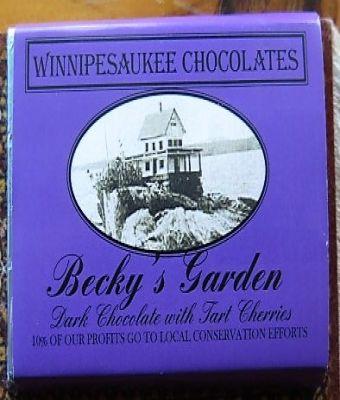 Winnipesaukee Chocolates - Becky's Garden