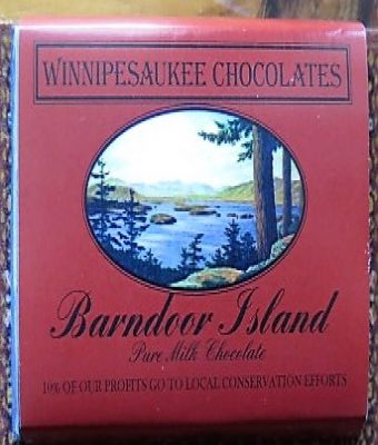 Winnipesaukee Chocolates - Barndoor Island