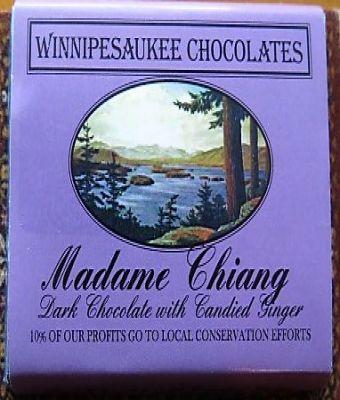 Winnipesaukee Chocolates - Madame Chiang